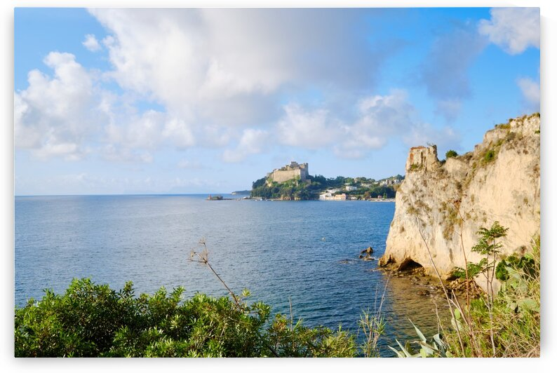 Baia town Seascape by AngelaSorrentino