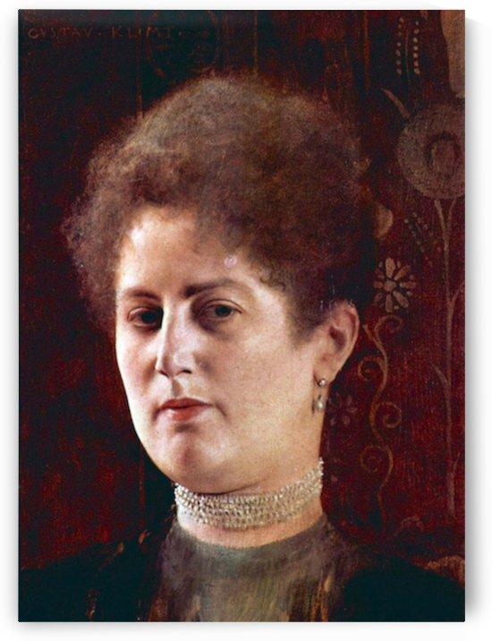 Portrai of a Woman by Klimt by Klimt