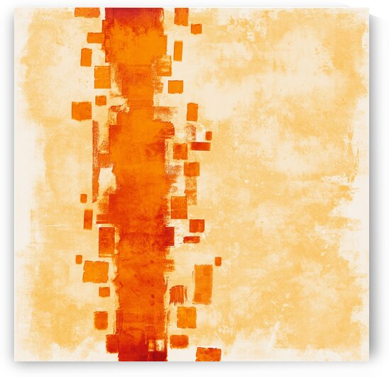 Layers 73 orange by Imre Toth