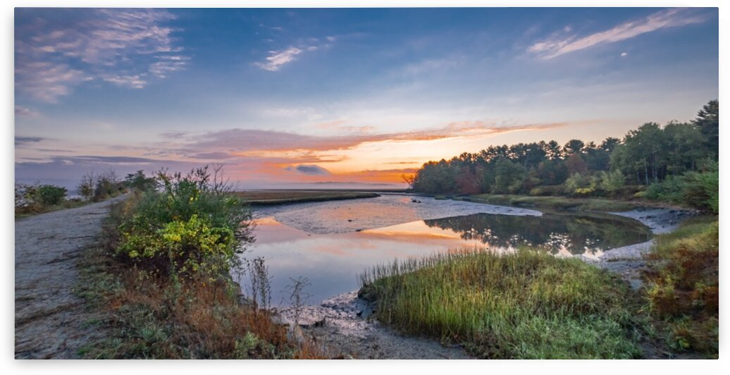 Scarborough Marsh Sunrise by Dave Therrien