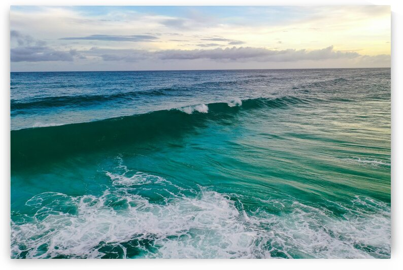 Green waves by Destin30A Drone