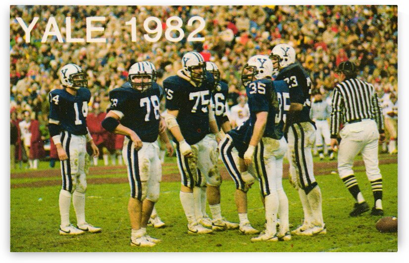 1982 Yale Football by Row One Brand