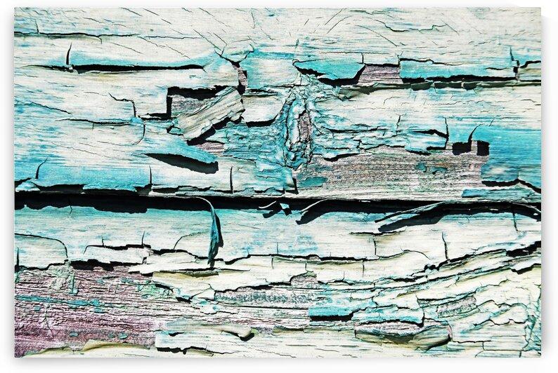 Paint Peeling On Wood by Deb Oppermann