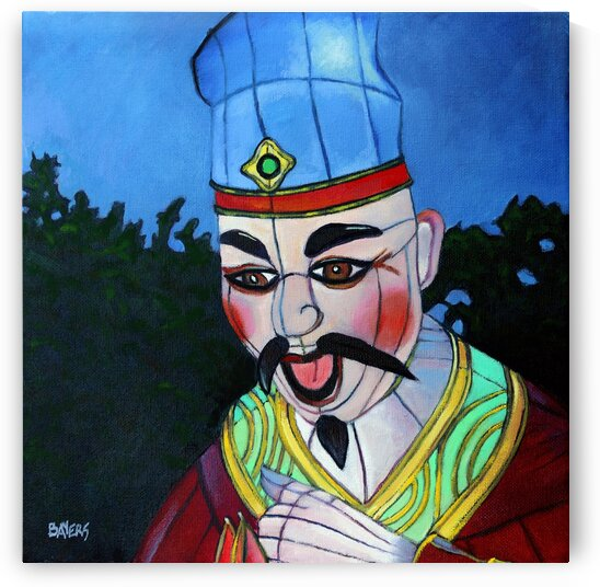 Man with Blue Hat by Rick Bayers