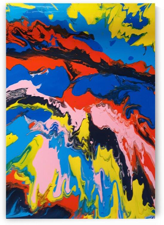 Fluid Painting by Irene Ragoss