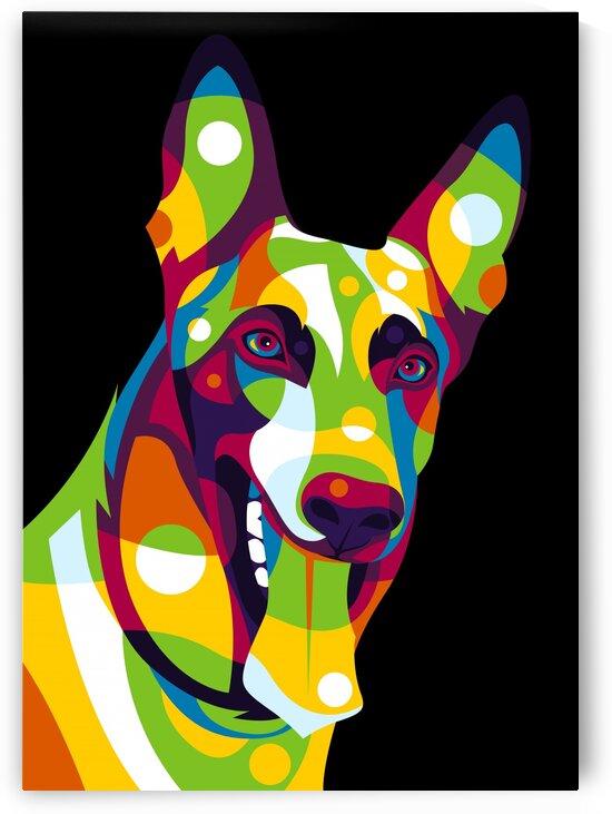 German Shepherd Dog by wpaprint