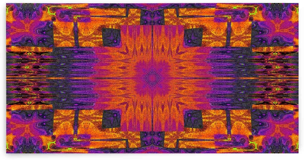 Tribal Blanket Of The Seeker 3 by Sherrie Larch