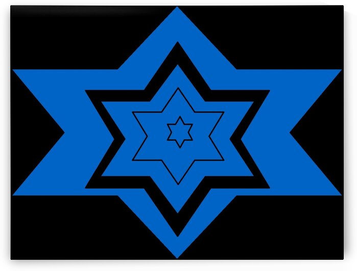 Star Of David 1  by Sherrie Larch