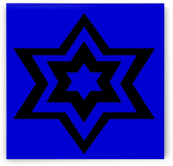 Star Of David 2 by Sherrie Larch