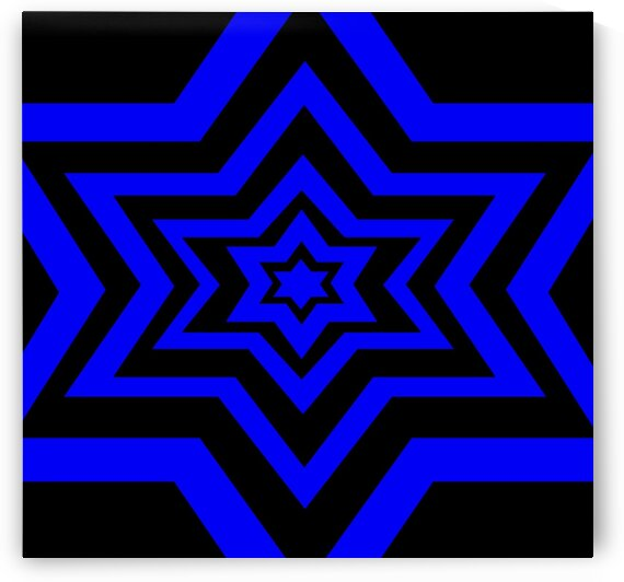 Star Of David 3 by Sherrie Larch