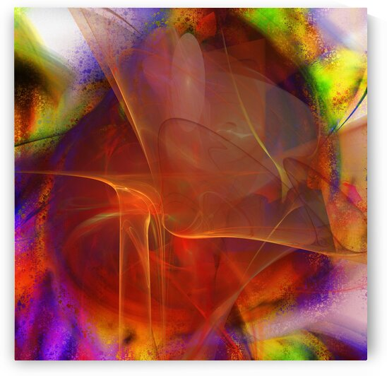 Pinkiz abstraction  by Jean-Francois Dupuis