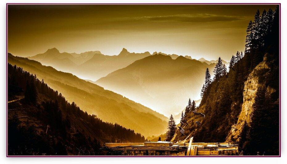Arlberg pass  by Nature Art