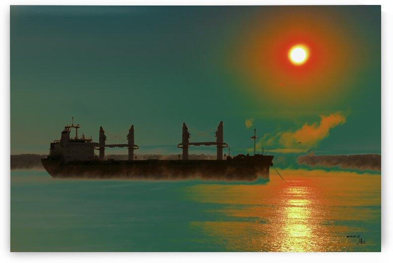 Paisible fleuve- Collection EXC-S Art by Sylvain Bergeron Photographies