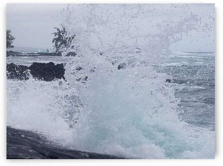 Hilo Bay Tide by Kathleen Anderson