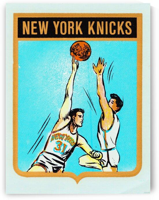 1960s New York Knicks Art by Row One Brand