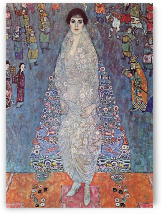Portrait of Baroness Elisabeth Bachofen by Klimt by Klimt