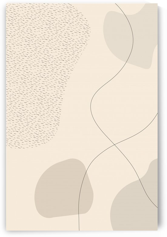 Mid-Century Modern No. 3   brown   by Melanie Viola