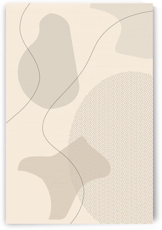Mid-Century Modern No. 1 | brown   by Melanie Viola