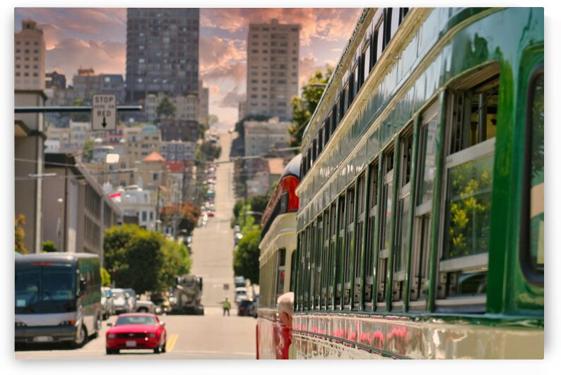 StreetsofSanFranciscoatDawn by Darryl Brooks