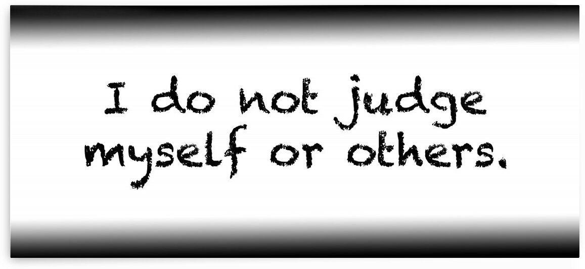 I do not judge myself or others by Red Pill Metaphysics