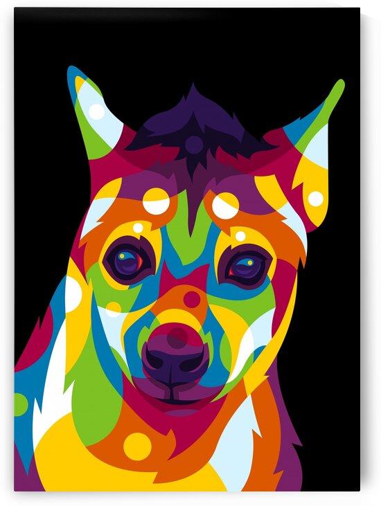Hyena Portrait by wpaprint