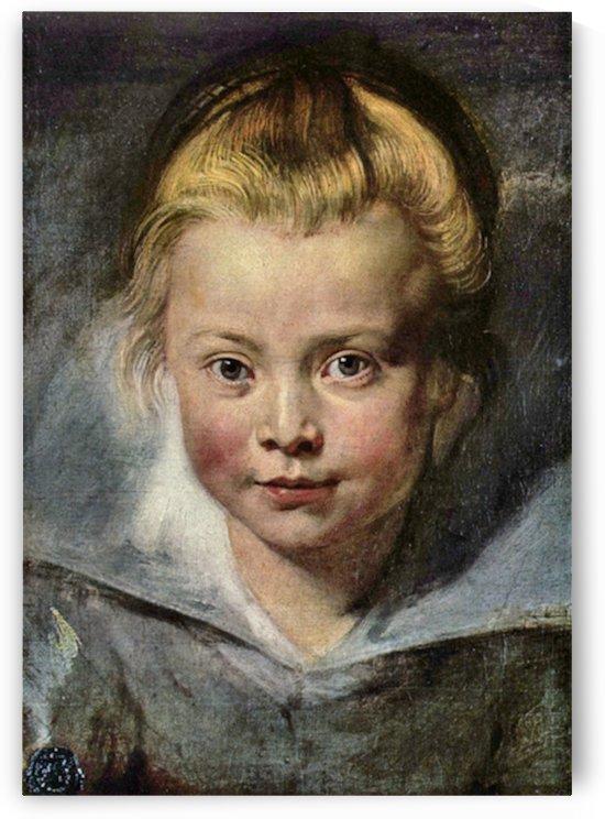 Portrait of Clara Serena Rubens by Rubens by Rubens