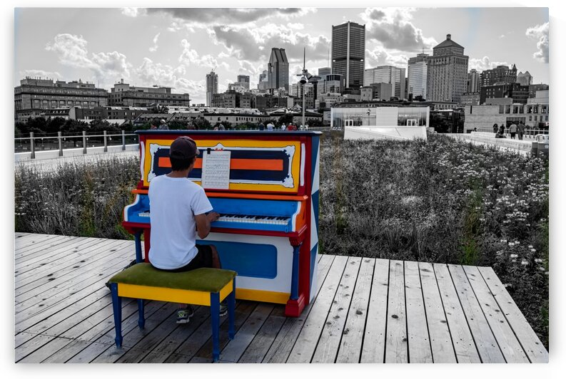 Montreal - Piano Man 2018 by KCMii Photography - Ali El Kacemi