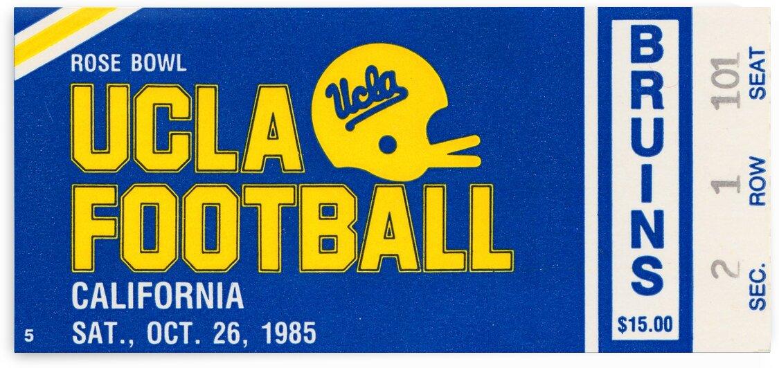 1985 UCLA vs. California by Row One Brand