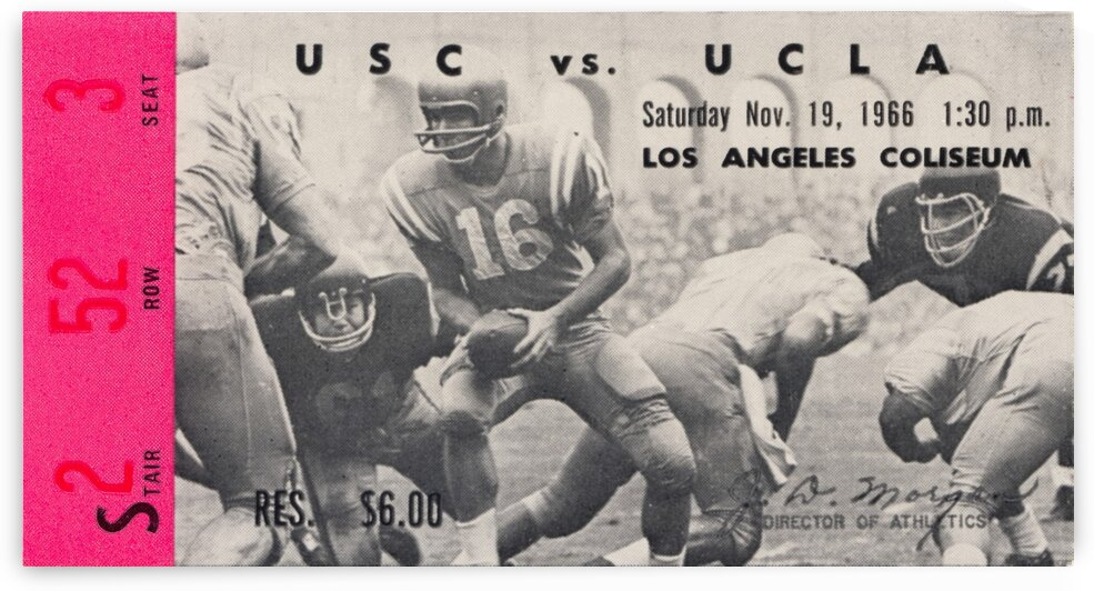 1966 UCLA vs. USC by Row One Brand