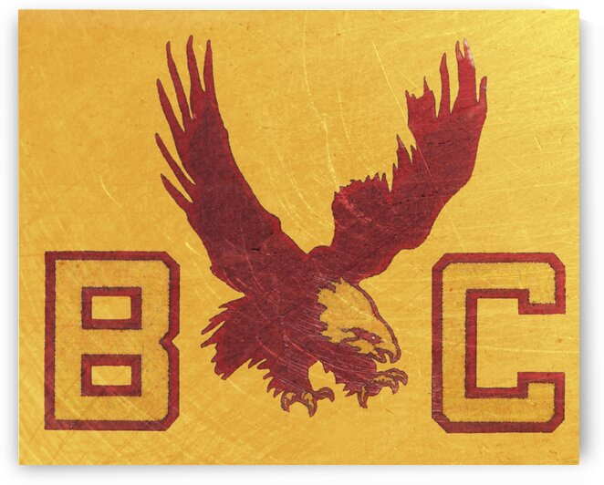 1950s Boston College Eagles by Row One Brand