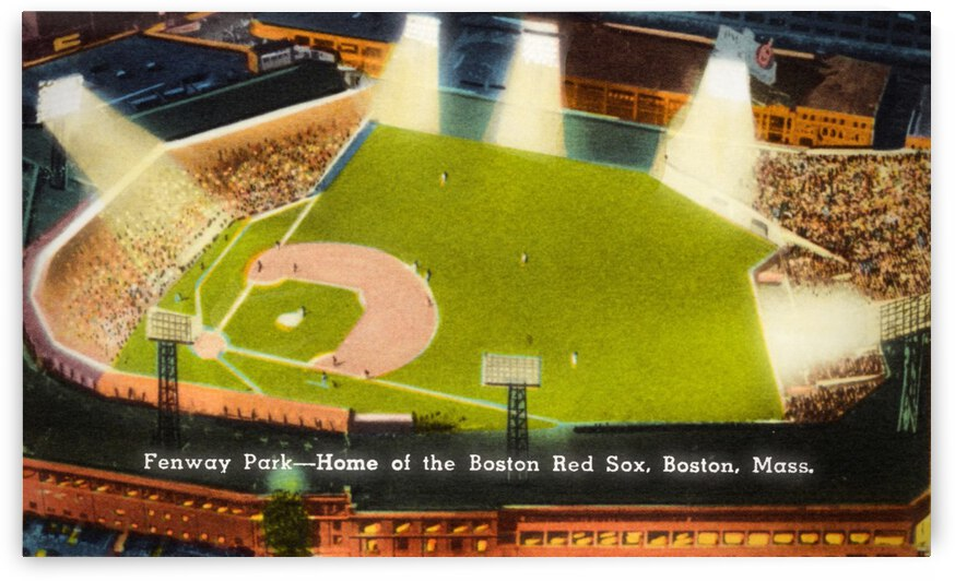 1930 Boston Red Sox Fenway Park by Row One Brand