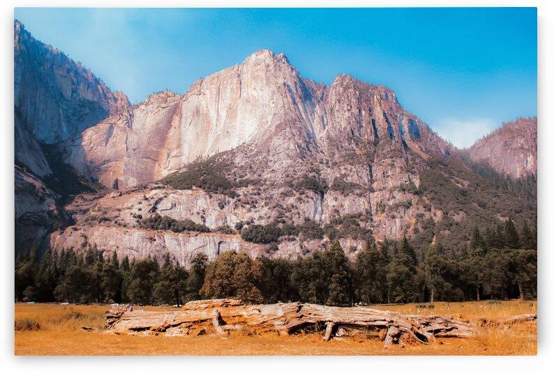 mountain at Yosemite national park California USA by TimmyLA