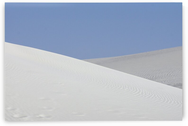 White Sands Panoramic III by Lawrence Costales