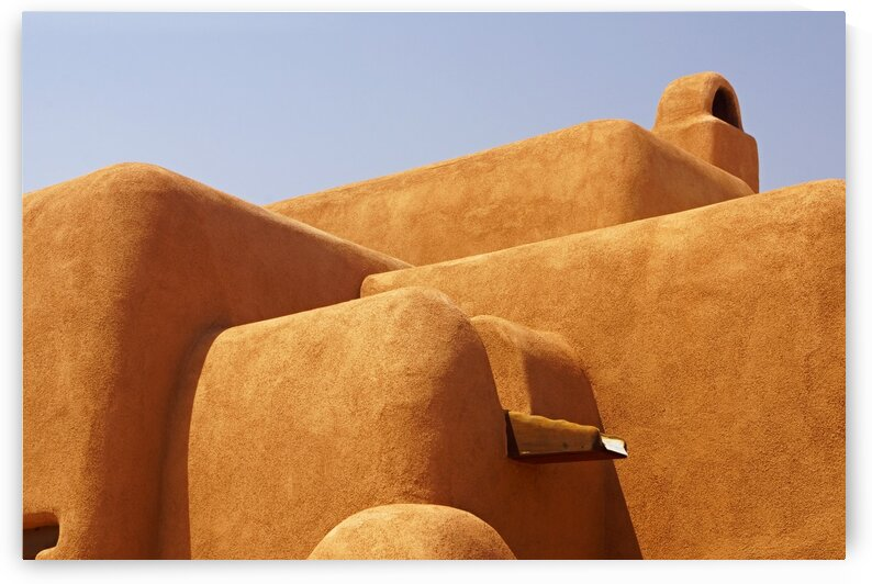 Mesilla Home Abstract by Lawrence Costales