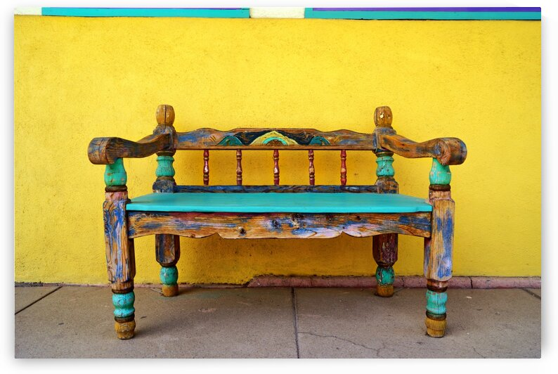 Silver City Bench by Lawrence Costales