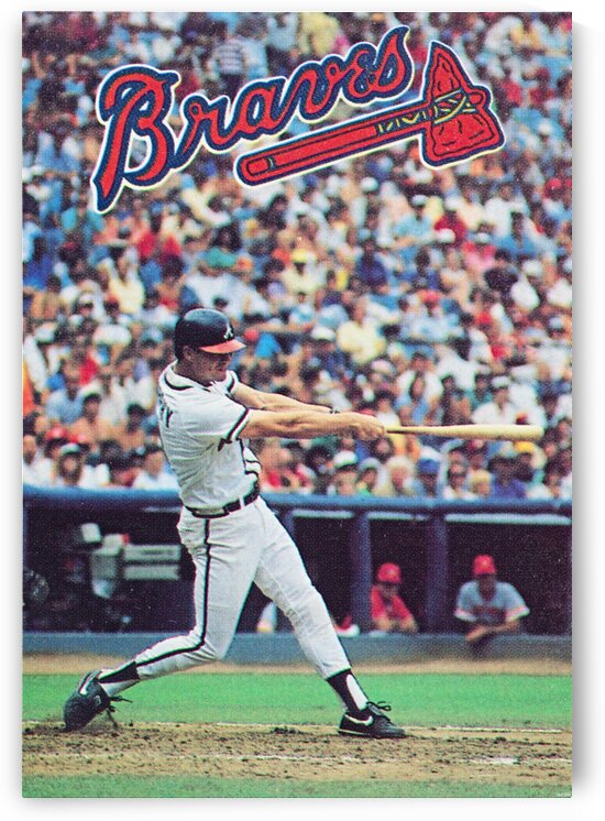 1988  Atlanta Braves Dale Murphy  by Row One Brand