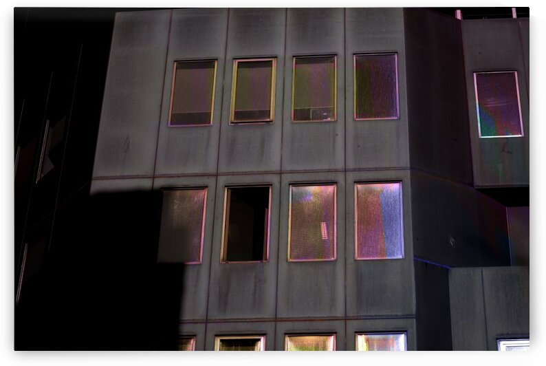 Abstract - Urban Facade With Iridescent Windows 1 by ParaKrytous
