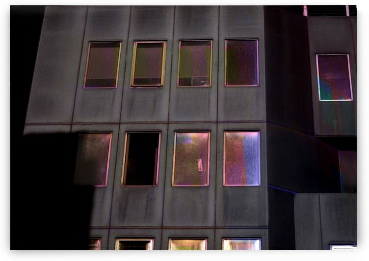 Abstract - Urban Facade With Iridescent Windows 2 by ParaKrytous
