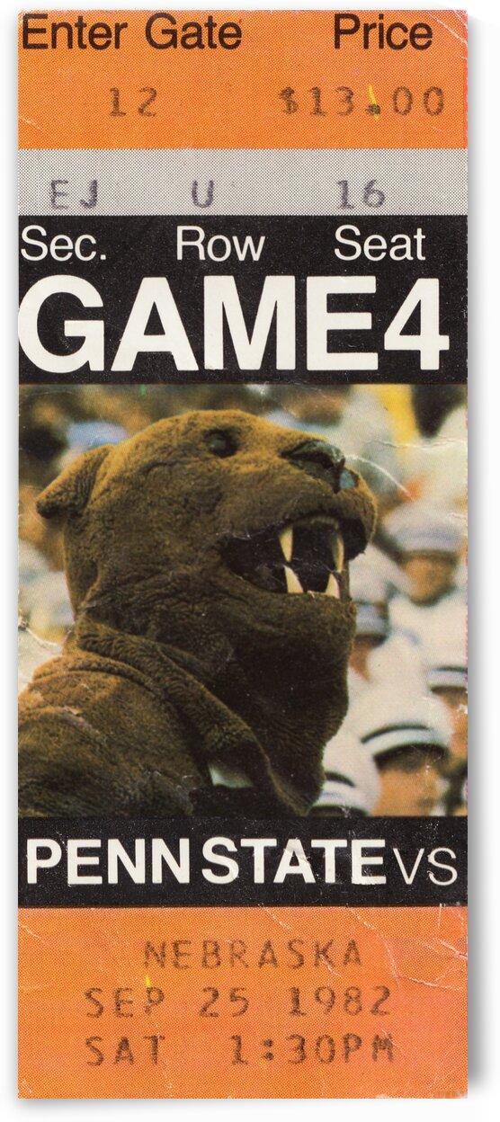 1982 Penn State vs. Nebraska by Row One Brand