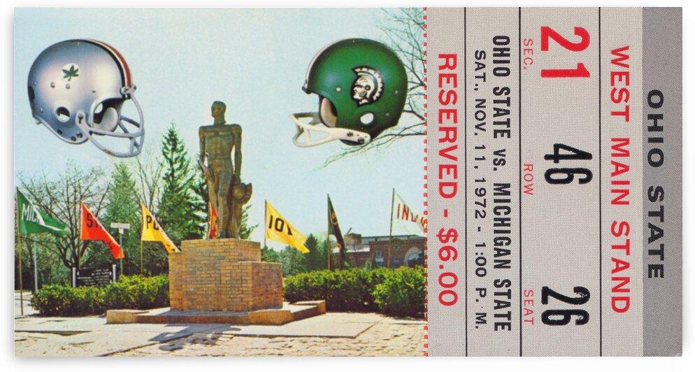 1972 Michigan State vs. Ohio State by Row One Brand