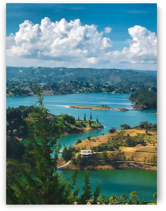 Lakes view by Sebastian Mora