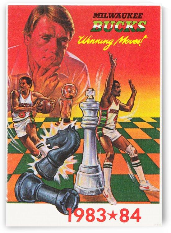 1983 Milwaukee Bucks  by Row One Brand