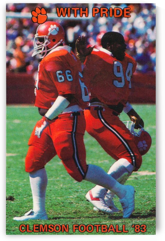 1983 Clemson Pride by Row One Brand