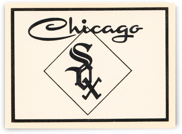 1961 Chicago White Sox Art by Row One Brand