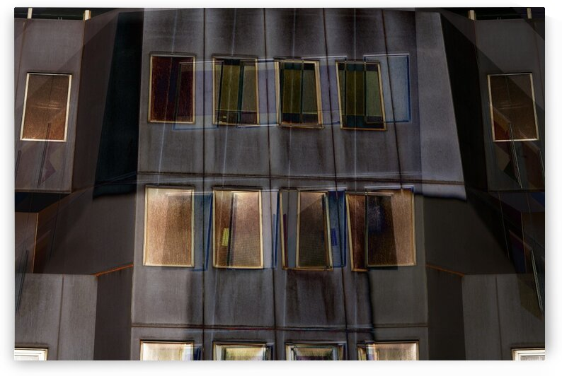 Abstract - Urban Facade With Iridescent Windows 3 by ParaKrytous
