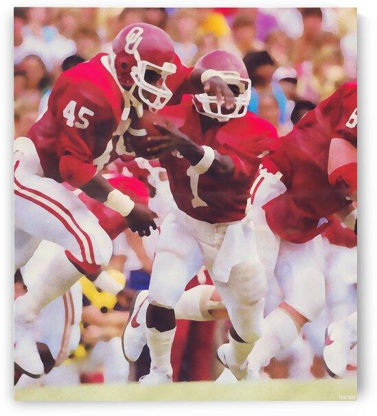 1984 Danny Bradley Oklahoma Sooners by Row One Brand