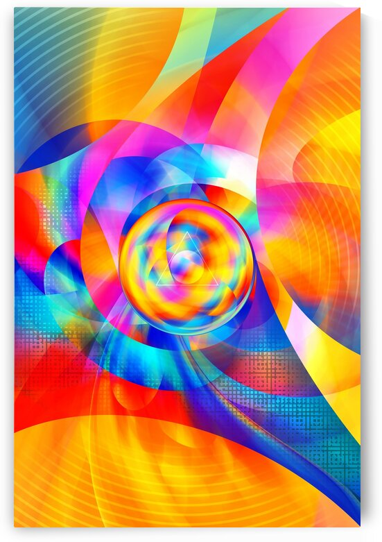4th Dimension - Abstract Art XVI by Art Design Works