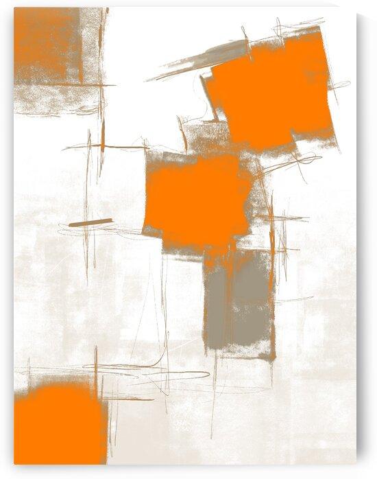 Free style 104 orange gray by Imre Toth