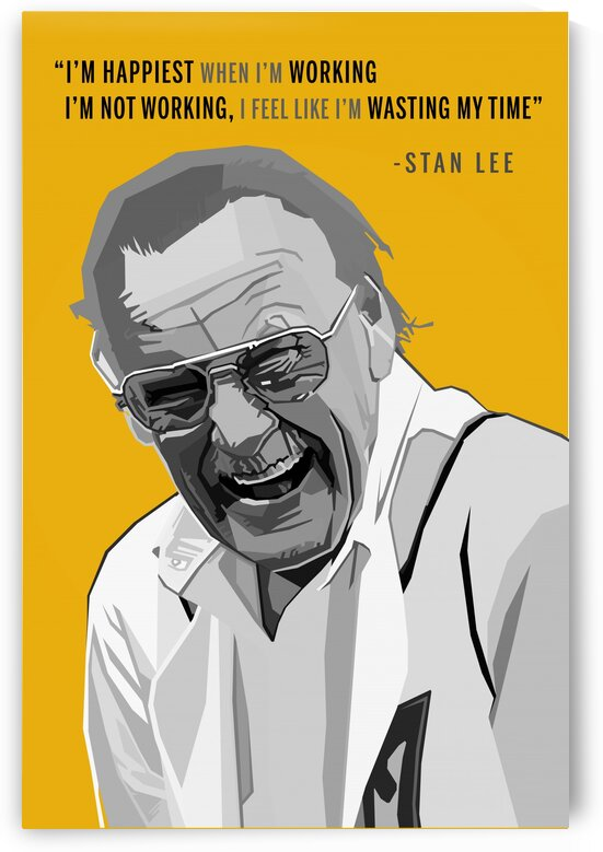 Marvel Comics Stan Lee Quotes by Long Art