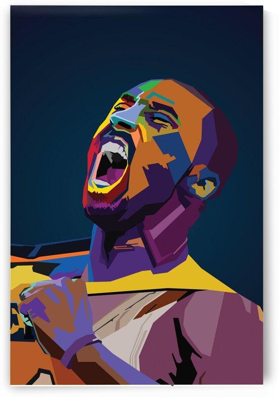 Kobe Bryant by Long Art